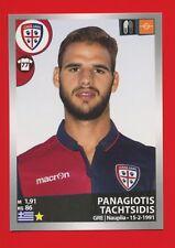 CALCIATORI 2016-17 Panini 2017 -Figurine-stickers n. 73 -TACHTSIDIS-CAGLIARI-New