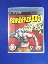 Playstation 3 Borderlands  PS3 with Manual