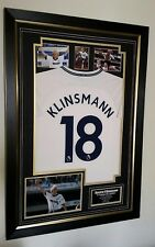 *** Rare Jurgen Klinsmann Signed Photo and Picture Shirt Autographed Display ***