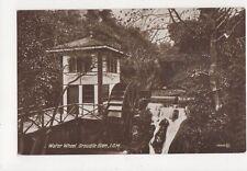 Water Wheel Groudle Glen IOM Vintage Postcard 284a