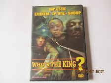 who's the king?  EMINEM-DR DRE-SNOOP - 2 DVD NEUF SOUS BLISTER
