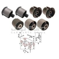 FOR HYUNDAI TUCSON 04-10 REAR AXLE SUBFRAME CROSSMEMBER BUSHING 4WD ONLY