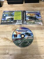 Ace Combat 3 Electrosphere Complete CIB Black Label Sony Playstation 1 PS1