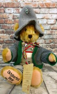 Hermann Oktoberfest Rare Collectors German Bear Antique Mohair 1994 -74 of 600