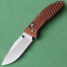 Sanrenmu 763 SRM 7063AUC-LY Folding Knife Outdoor Camping Surviva Tool Axis Lock