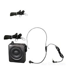Waist Band Portable PA System Voice Amplifier 50W Coaches Headset Microphone