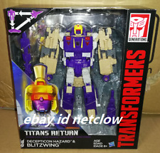 Transformers Hasbro Titans Return Voyager Blitzwing in Stock