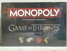 Hasbro Game Of Thrones Collectors Edition Monopoly New And Sealed