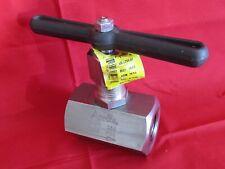 "APOLLO 3/4"" Stainless Steel 316 Globe Valve & Tee Handle 5,000 psi # 60A-704-01"
