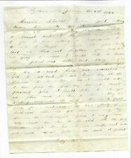 1869 Personal Letter, Graham's Mill (Ohio?), signed by Polly Robinson