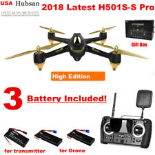 Hubsan H501SS Pro FPV Drone 5.8G 1080P Brushless GPS Quadcopter RTF +New Compass