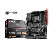New listing Msi B450 Tomahawk Max - Am4 Amd B450 Sata 6Gb/s Atx Amd Motherboard