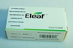 ELEAF - iStick TC 40W brushed silver EAN 6971365270923 2600 mAh