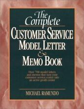The Complete Customer Service Model Letter & Memo Book