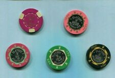 New ListingSet of 5 Casino Chips Playboy Casino - 2nd Issue/backup -