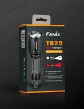 Fenix TK25 RED Jagd Taschenlampe 1000lm weiss und 310lm rot 200m Reichweite IP68