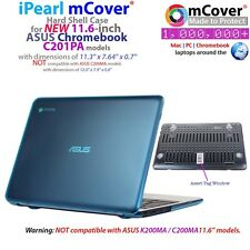 """NEW mCover® Hard Shell Case for 11.6"""" ASUS Chromebook C201PA model"""
