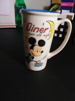 DISNEY Coffee Mug MICKEY MOUSE Disney Store Ceramic