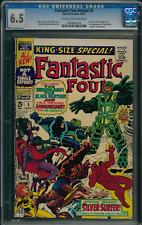 Fantastic Four Annual #5 CGC 6.5 1st solo Silver Surfer 1st Psycho-Man Kirby art