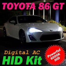 6000K H11 Xenon HID Kit to suit Toyota 86 GT (ZN6) Low Beam Headlights 35W