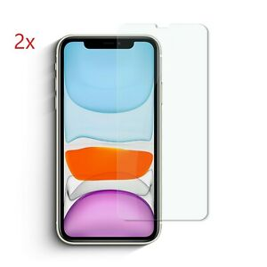 2x Schutzglas für Apple iphone 11 / Pro / Max / X / XS / XR / XS MAX Schutzglas