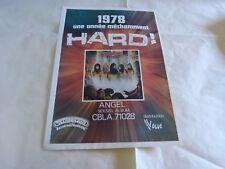 ANGEL - Publicité de magazine / Advert VINTAGE 70'S !!! WHITE HOT !!!