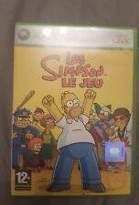 Jeu Xbox 360 Les simpsons Le jeu