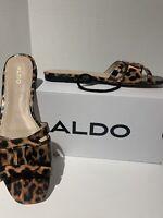 Women's Aldo Astirassa Fashion Flats,  Sandals, Cheetah Print