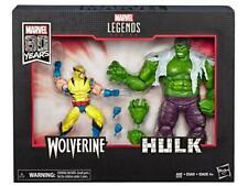 (In-Hand) Marvel Legends 80th Anniversary X-men Wolverine & Hulk 2 Pack Set New