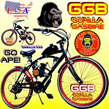 "66cc/80cc 2-Stroke motorized bike Kit With 26"" Cruiser Bike With Bonus!"
