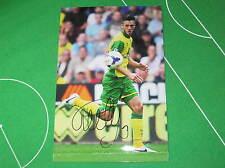 Ricky van Wolfswinkel Signed Norwich City FC 2013/14 Debut Photograph