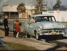 Vintage 1950s Projector Still Color Slide of Kids & Old Car TDC Prestomount