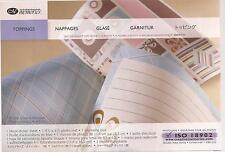 CREATIVE MEMORIES TOPPINGS Stickers Photo Mat Journaling Box Kit Scrapbooking