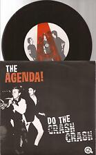 "The Agenda ""Do The Crash Crash"" 7"" Vinyl Picture Sleeve"