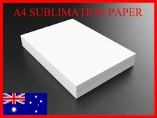200 x A4 Dye Sublimation Transfer Paper For Sublimation Ink Printer Printing