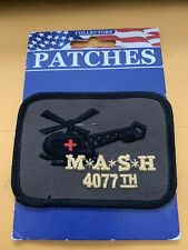 """New listing Vintage M*A*S*H 4077th Shoulder Patch (Tv Show Themed) 3"""" Still On Card!"""