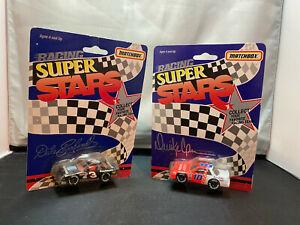 Matchbox NASCAR Racing Super Stars 1/64 Diecast Lot Dale Earnhardt Derrike Cope