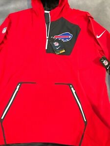 Nike Shield NFL Alpha Fly Rush Pullover Jacket Buffalo Bills size 2XL