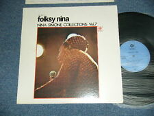NINA SIMONE Japan 1970's NM LP FOLKSY NINA :COLLECTIONS VOL.7