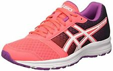 Asics PATRIOT 8 Womens Running Gym Trainers T669N 2001 CORAL UK 4.5 EU 37.5 S17