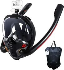 New listing Hjkb Full Face Snorkel Mask, Snorkeling Mask For Adults, 180  Panoramic