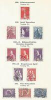 Denmark Danemark 1938-39-41-43 Mi 242 247-249 250-252 266-268 Da20