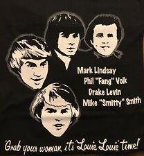 Mark Lindsay Fang Drake Smitty Reunion XLARGE TShirt (Formerly Revere & Raiders)