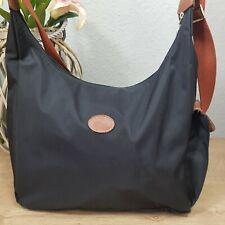 Longchamp Hobo Bag Wickeltasche Umhängetasche crossbody schwarz original
