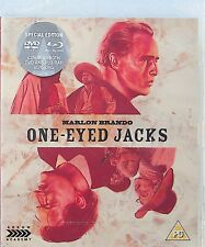 One-Eyed Jacks -Special Blu Ray & DVD -NEW -Marlon Brando -Arrow/Booklet Western