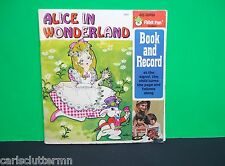 "Alice in Wonderland Book Record Peter Pan Read-Along 45 RPM Children's #1943 7"""
