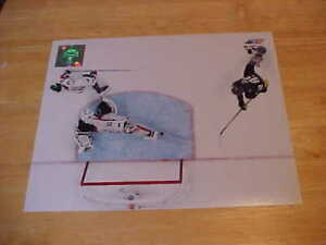 """Braden Holtby """"THE SAVE"""" Of The Finals LICENSED 8X10 Photo FREE SHIPPING 3/more"""