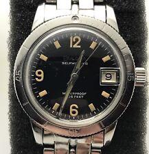 Vintage Bulova 666 Feet Divers Watch All Steel Automatic JB Champion Bracelet