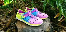 Stride Rite Made 2 Play Phibian Multicolor Girls Water Shoes Sz 3