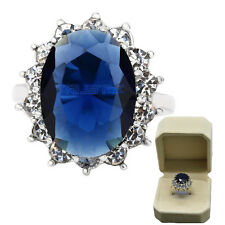 Size 7Fashion Women AAA ZirconJewelry Filled Wedding Engagement Wedding gem Ring